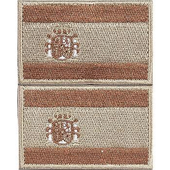 Parche España Velcro 2 Parches Velcro x España Bandera Táctico bandera con velcro podría ser pegado a la ropa, chaleco, gorra, mochila: Amazon.es: Hogar