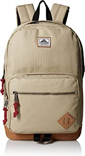Steve Madden Young Men's classic backpack Accessory, tan, n/a