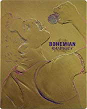 Bohemian Rhapsody Steelbook [Blu-Ray] [Region Free] (English audio. English subtitles)