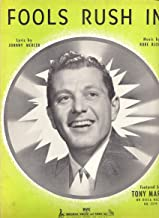 Fools Rush In (Song) Tony Martin on the Cover