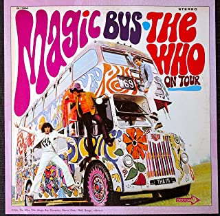 The Who - Magic Bus: On Tour - Vintage Album Cover Poster