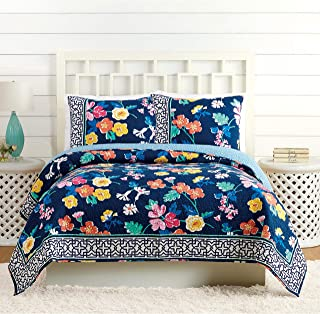 Vera Bradley A738A16NYNAE Maybe Navy Quilt, Twin