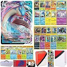 Totem World Sword and Shield Pokemon VMAX Card Ultra Rare Guaranteed with 10 Rares, 10 Foil Holo, 40 Regular Cards, Totem ...