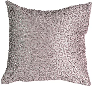 "Beautyrest Henriette Sequin Decorative Pillow, Lavender, 14"" x 14"""