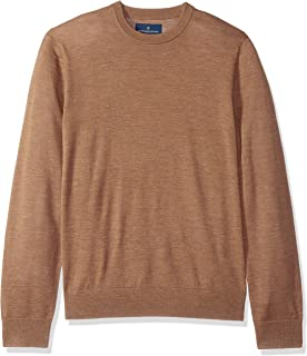 Buttoned Down Men's Italian Merino Cashwool Crewneck Sweater