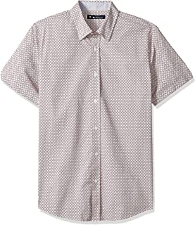 Ben Sherman Men's Ss Geo Floral Print Shirt