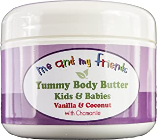 Kid's Yummy Body Butter with Vanilla and Coconut, 1.6oz