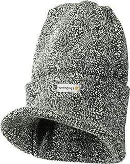 Men's Knit Hat With Visor