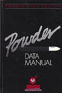HODGDON POWDER DATA MANUAL NO. 25