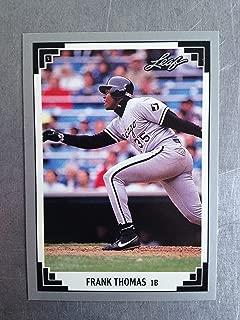 1991 Leaf 281 Frank Thomas NM/M (Near Mint/Mint)