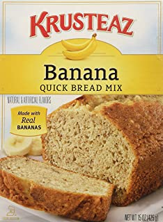 Krusteaz Banana Quick Bread 15 OZ (Pack of 3)