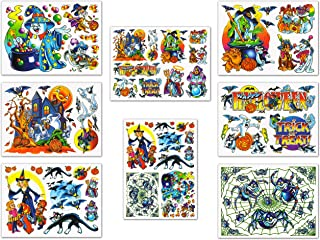 Halloween Window Clings Decals Decorations Kit