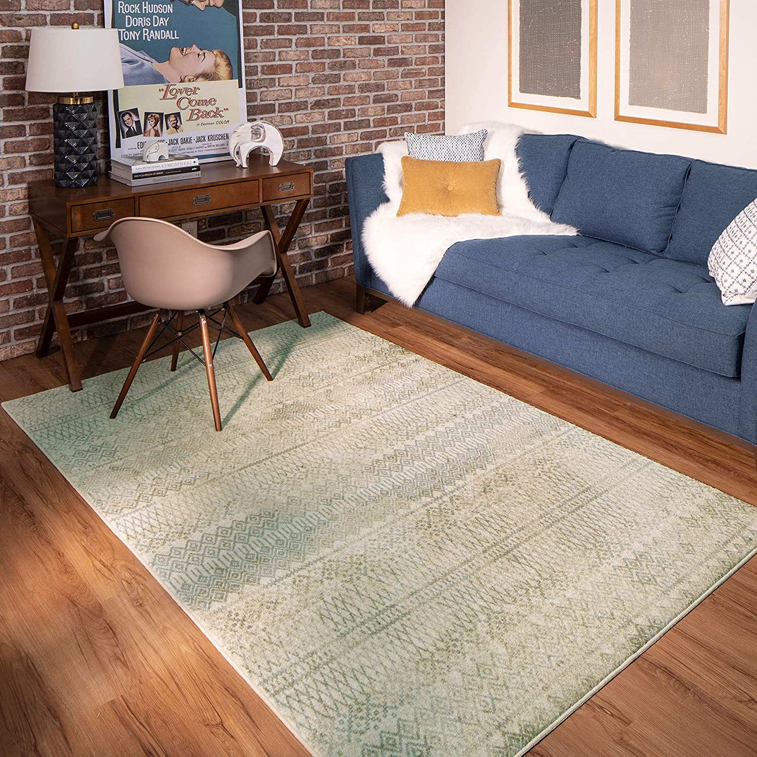 Mohawk Home Prale Earth Geometric Area X 9' 6' Rug Free shipping anywhere in Al sold out. the nation