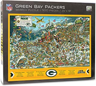NFL Green Bay Packers Joe Journeyman Puzzle - 500-piece