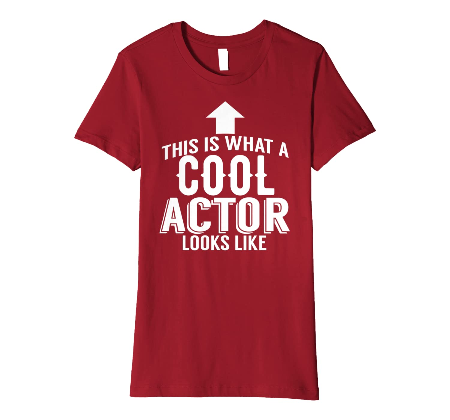 Actor Funny Gift – This Is What A Cool Actor Looks Like Premium T-Shirt