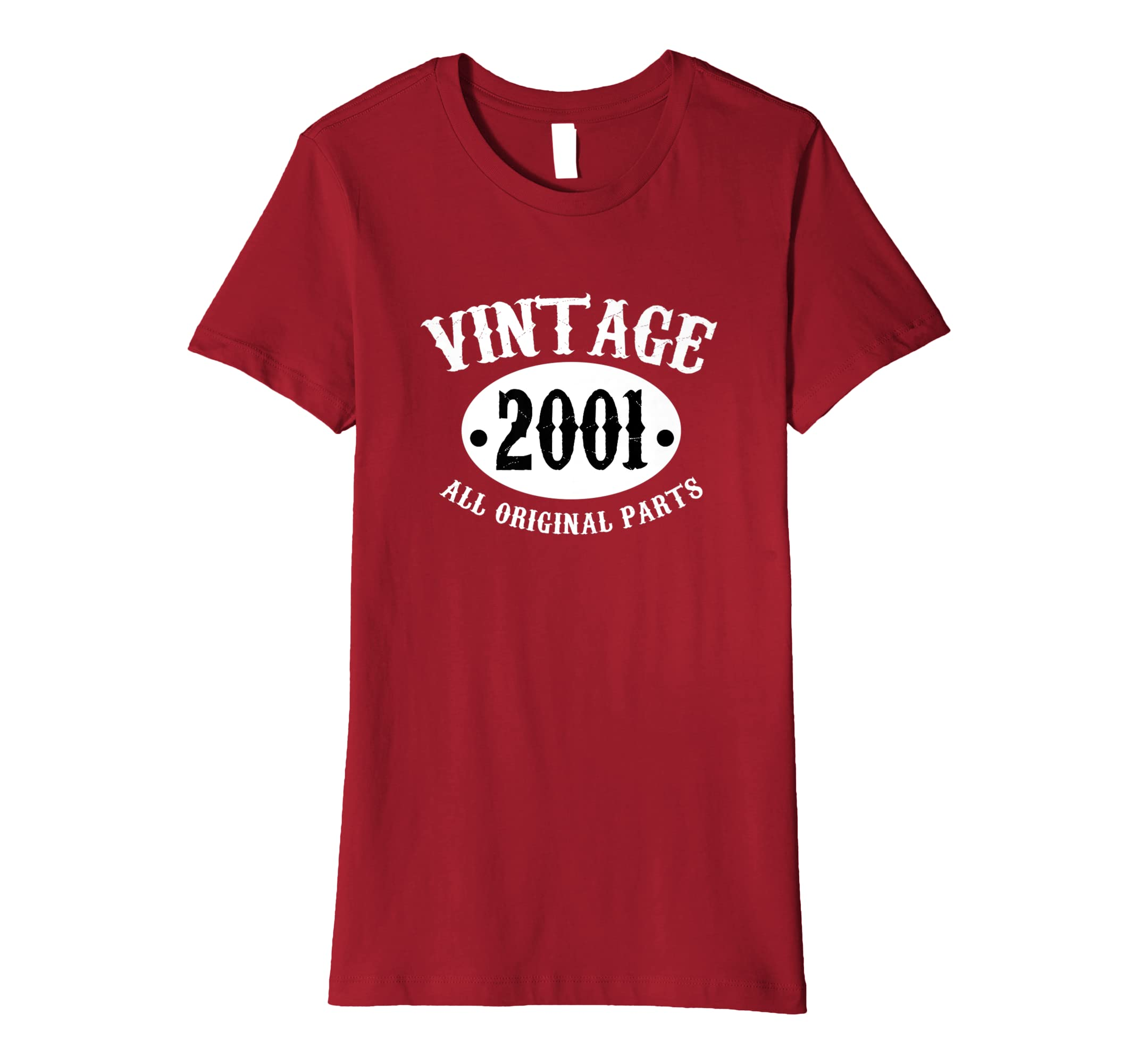 d81b6b704aa 17th Birthday Gift Vintage 2001 17 Yrs Old T-Shirt Men Women  Amazon.co.uk   Clothing