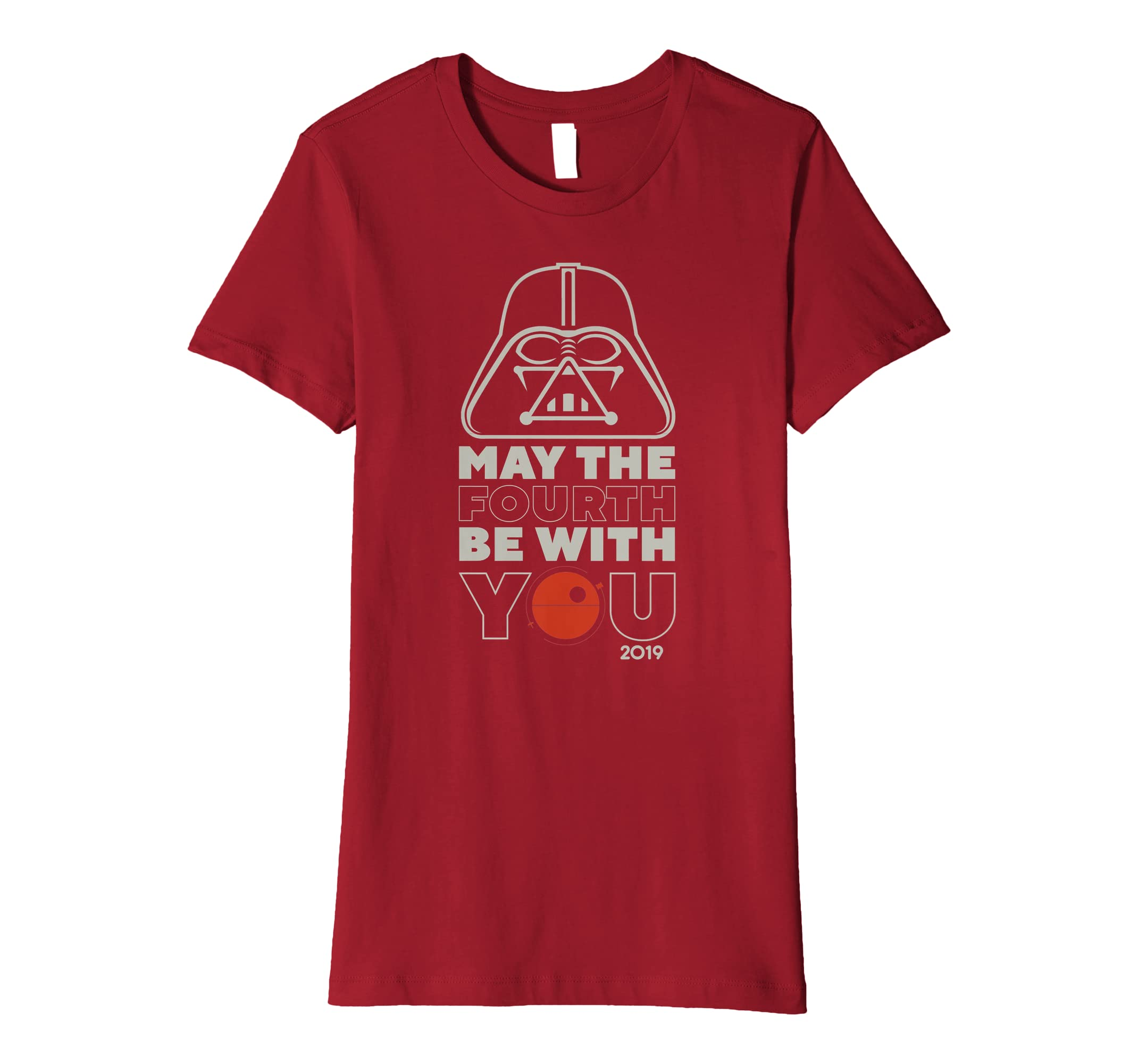 fca98b6d0 Star Wars May The Fourth Be With You 2019 Vader T-Shirt: Amazon.co.uk:  Clothing