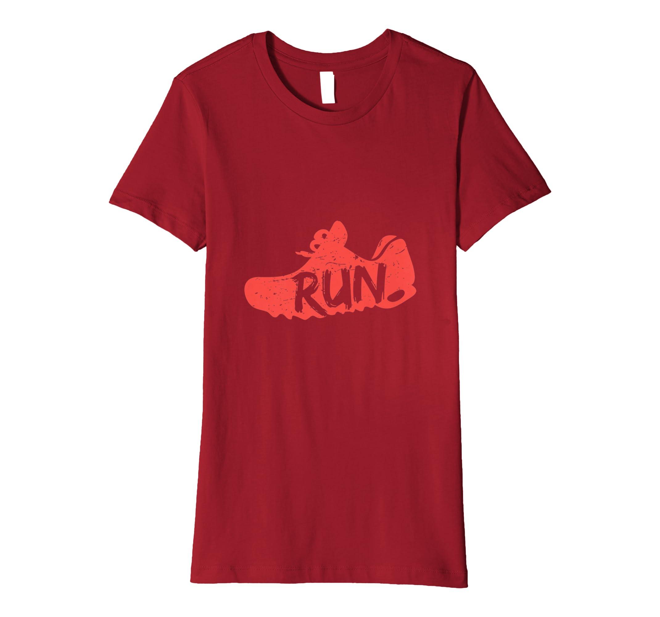 Sportschuhe laufen Läufer Geschenk Fun T Shirt: Amazon.de: Bekleidung