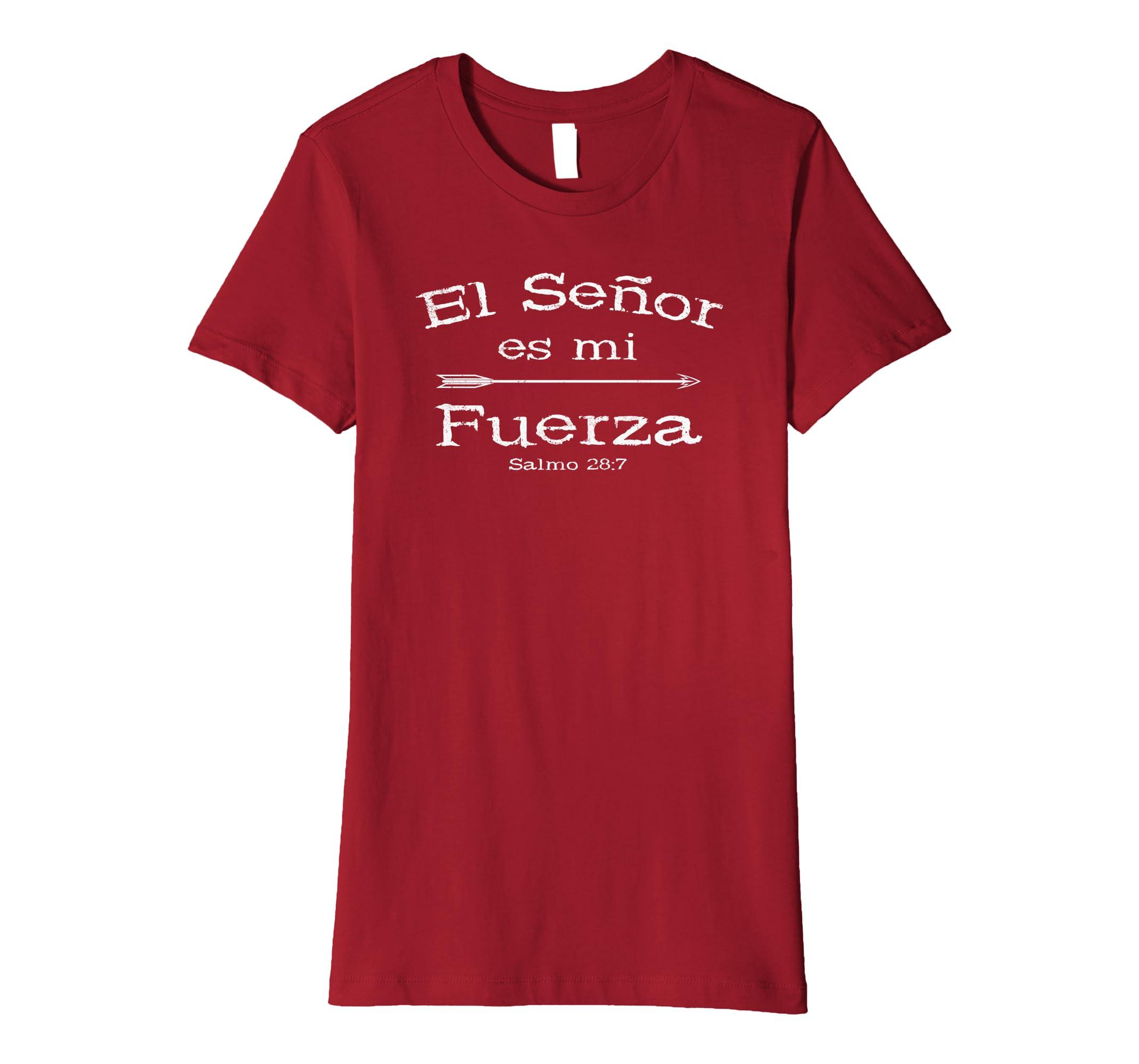 Amazon.com: Camisas Cristianas Espanolas para hombres y mujeres: Clothing