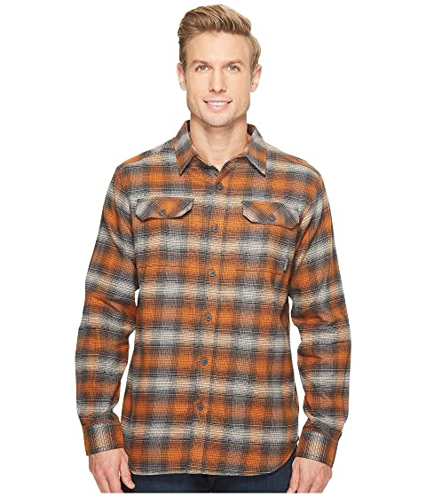543c51414f2 COLUMBIA Flare Gun™ Flannel Iii Long-Sleeve Shirt, Bright Copper Ombre