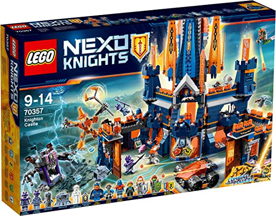 LEGO Nexo Knights - Castillo de Knighton, Juguete de Construcción de Aventuras de Caballeros (70357)