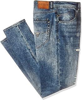 Guess Comfort Fit Jeans for Men - Blue , size 34