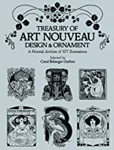Treasury of Art Nouveau Design & Ornament (Dover Pictorial Archive) (English Edition)