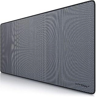 TITANWOLF - XXL Alfombrilla para ratón 900 x 400 mm | Speed Gaming Mousepad | Mouse Pad para Ordenador | Base para Mesa Grandes Dimensiones | Diseño: Diamond
