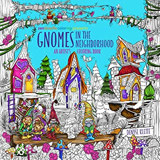 Best Zendoodle Coloring Presents Gnomes in the Neighborhood: An Artist