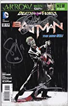 Autographed Batman New 52 #17 NM Signed Scott Snyder Greg Capullo Jonathan Glapion