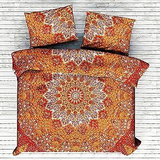 Indio Bohemio Mandala Star doona funda de edredón, Hippie Boho cama, hippie colcha doona funda de edredón,