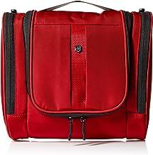 Victorinox Hanging Toiletry Kit, Red/Black Logo, One Size