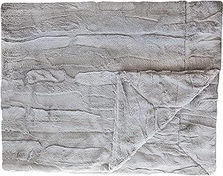 Minky Couture Premium Blanket - Soft, Warm, Cozy, Comfortable, (Grande, Sorbet Granite)