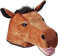 Plush Horse Head Hat Party Accessory (1 count) (1/Pkg)