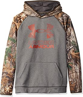 Under Armour Outerwear Boys' Armourfleece Camo Blocked Hoodie