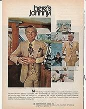 johnny carson clothing