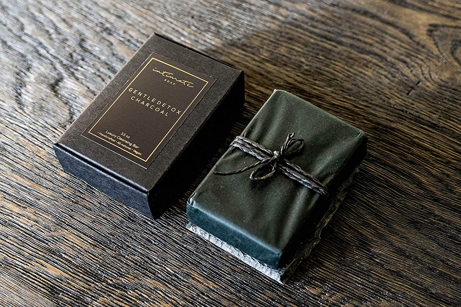 Organic Activated Charcoal Soap Very Finally resale start popular Bar Holder with Stone Natural