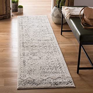 Safavieh Tulum Collection TUL268A Ivory and Grey Runner (2' x 11') Area Rug