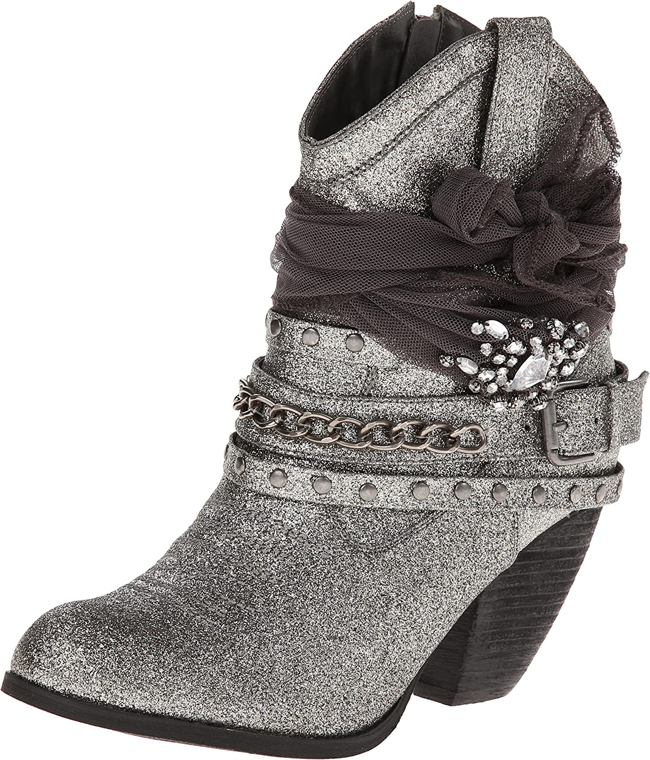 Not Rated Women's Glitzy Trio Harness Boot