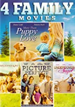 4 Family Movies (More Than Puppy Love / Wilderness Love / Picture Perfect / Undercover Angel)
