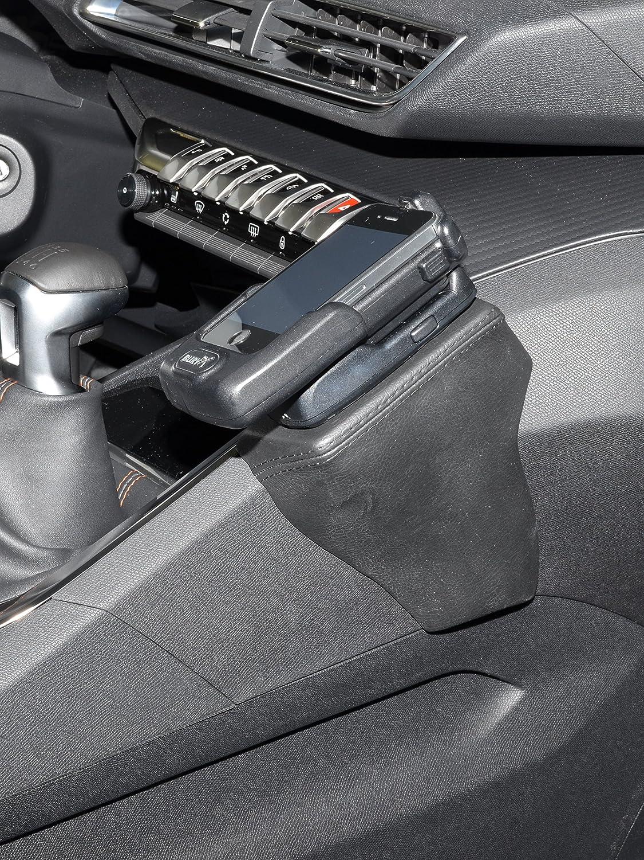 Kuda 2535 Halterung Kunstleder Schwarz Für Peugeot 3008 Elektronik