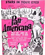 Stars in Your Eyes Pan-Americana with Phillip Terry Audrey Long Robert Benchley Eve Arden (sheet music)