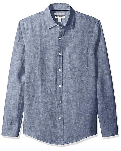 5baa011dcc Men's Linen Shirts: Amazon.com