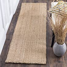 Safavieh Natural Fiber Collection NF401A Hand-woven Jute Area Rug, 10' x 14'