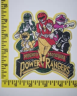 Might Morphin Power Ranger - Cast 4.5inch Logo Embroidered Patch