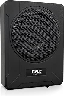 $142 » 8-Inch Low-Profile Amplified Subwoofer System - 600 Watt Compact Enclosed Active Underseat Car Audio Subwoofer with Built ...