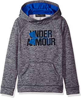 Under Armour Girls Fleece Novelty Big Logo Hoodie