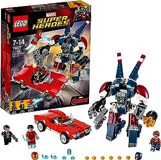 Lego Super Heroes-76077 Envía a Iron Man a rescatar a Agent Coulson de Las Garras de Detroit Steel, Multicolor (76077)