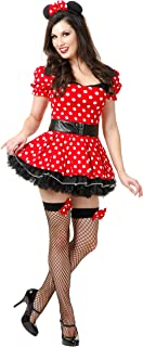 Women's Miss Mouse Pin Up Costume Set
