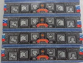 4 Boxes of Super Hit Nag Champa Incense Sticks